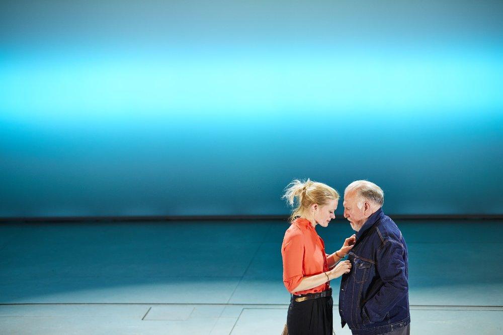 Heisenberg: The Uncertainty Principle , Wyndham´s Theatre, London  Anne-Marie Duff and Kenneth Cranham