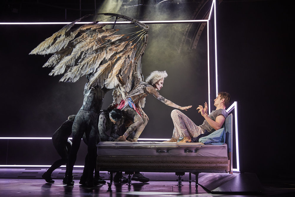 Angels in America  , New York City   Beth Malone ,  Andrew Garfield