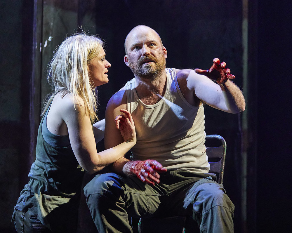 Macbeth  ,  National Theatre, London    Anne-Marie Duff ,  Rory Kinnear