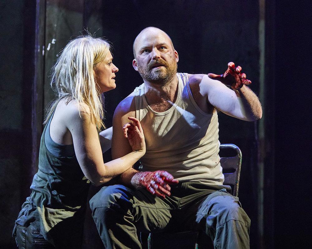 Macbeth  ,  National Theatre, London    Anne-Marie Duff ,  Rory Kinnear