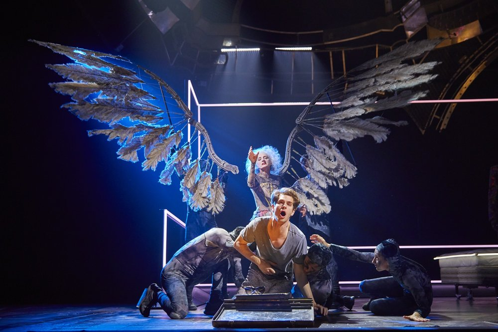 Angels in America  , New York City   Amanda Lawrence ,  Andrew Garfield