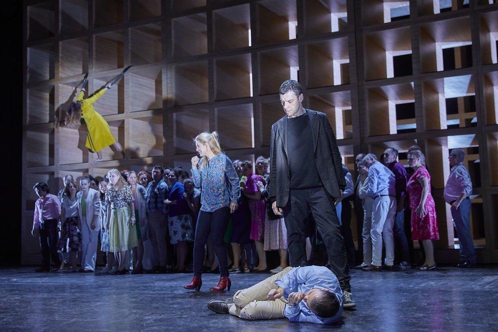 Messa da Requiem / Verdi ,  Staatsoper Hamburg    Nadezhda Karyazina ,  Maria Bengtsson ,  Gábor Bretz ,  Dmytro Popov , Choir of the Hamburger Staatsoper