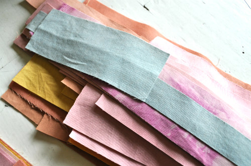 Looking at a pile of scraps is like looking at a jar of candy - they're irresistible!