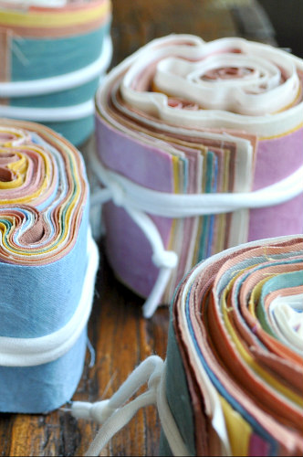 Each of these gems equals just under one yard of fabric!