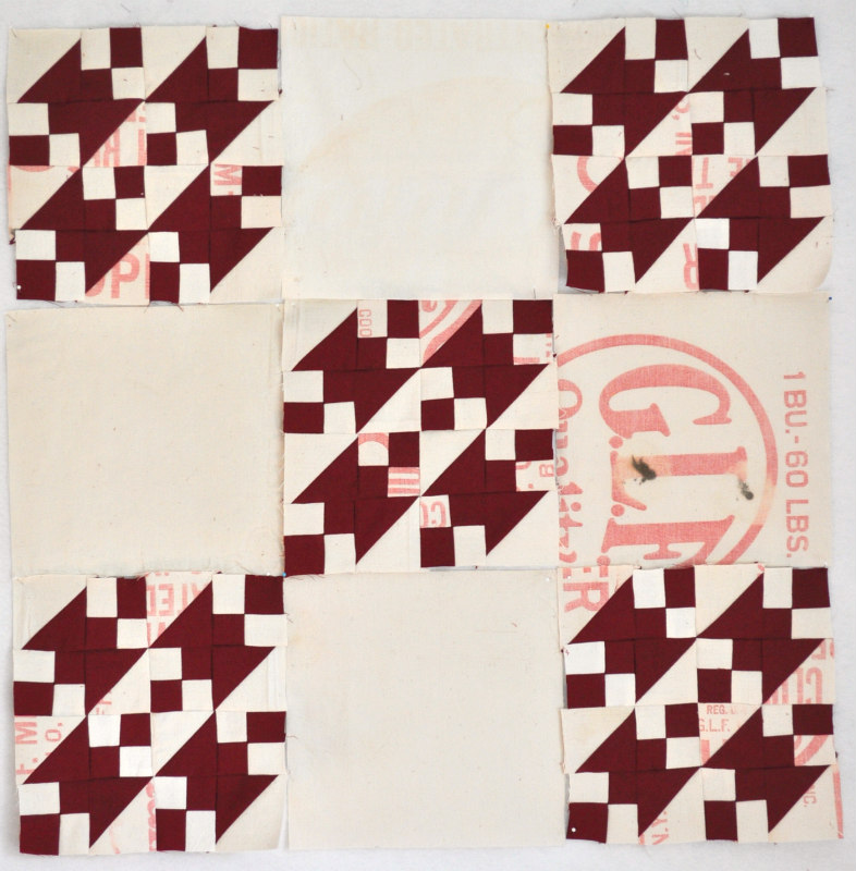 My design is a reproduction of an antique quilt shown in the book, Infinite Variety: Red and White Quilts.