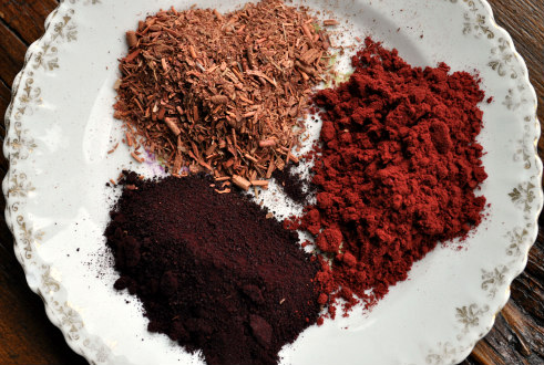 Madder, Cochineal and Quebracho Rojo