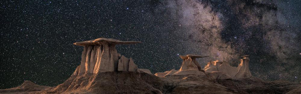 Photo by John Fowler - Bisti Badlands, New Mexico