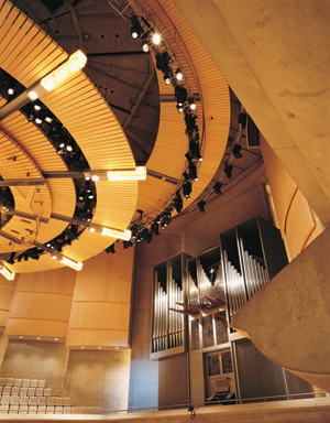 Free organ concerts at Roy Thomson Hall, Toronto