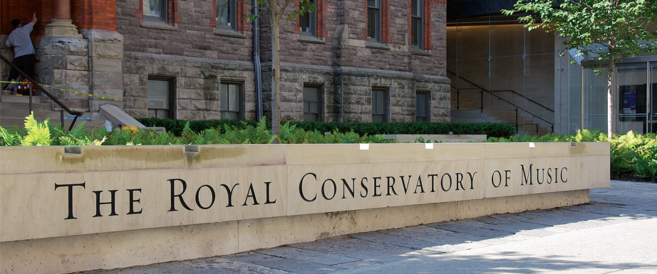 Free piano concerts at the Royal Conservatory of Music
