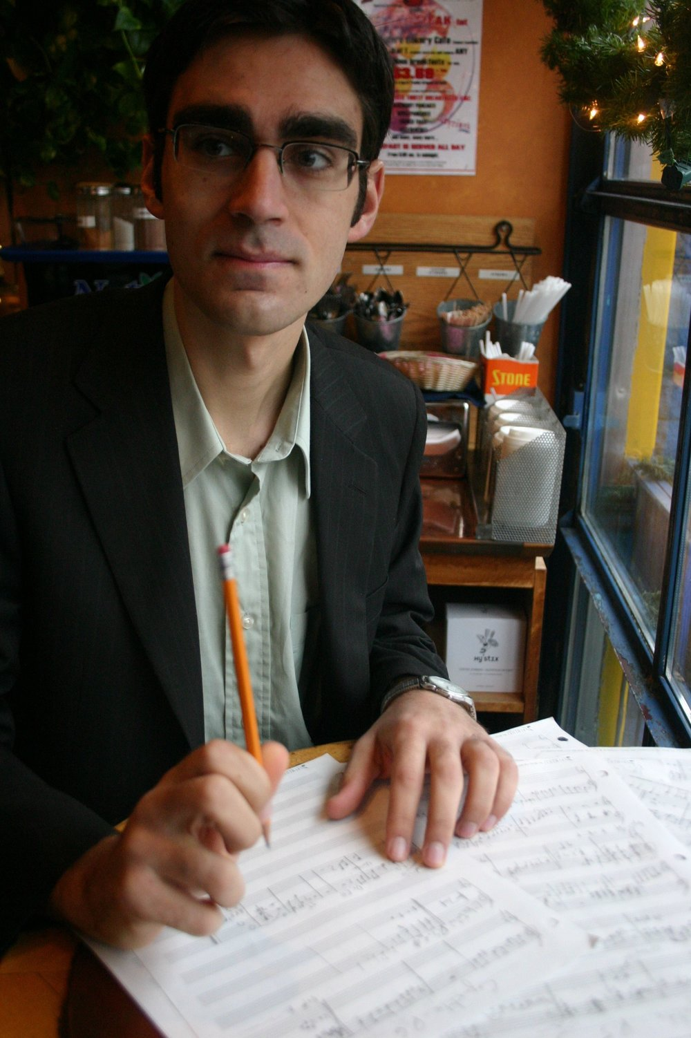 Toronto pianist and piano teacher, Jonah Cristall-Clarke