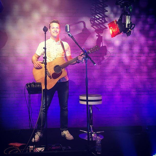 Playing a few tunes on GBC TV's The Hub last night📺 🎸 🎬 🎤 🎥 #livemusic #singersongwriter #soloartist #music #gigs #thehub #gibraltar #guitar #visitgibraltar #martinguitar #loopstation #rockofgibraltar #television #studio #live