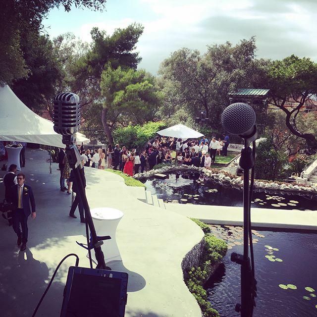 Waterfall Sessions #Gibraltar 🌅 🎤 🎶 🎸 #singer #musician #singersongwriter #weddingsinger #gibraltarweddings #alamedagardens #alamedaopenairtheare #wedding #privateevent #eventprofs #bosel1 #livemusic #soloartist #gig #sm58 #theatre #openairtheatre #pond #weddingparty #drinksreception #gibraltarweddingphotographer #gibraltarwedding