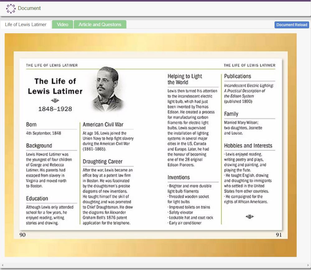 African American Inventors: Lewis Latimer