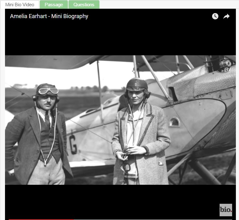 Famous Firsts: Amelia Earhart