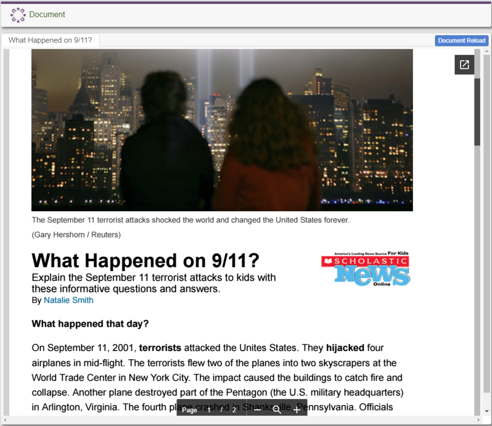 What Happened on 9/11