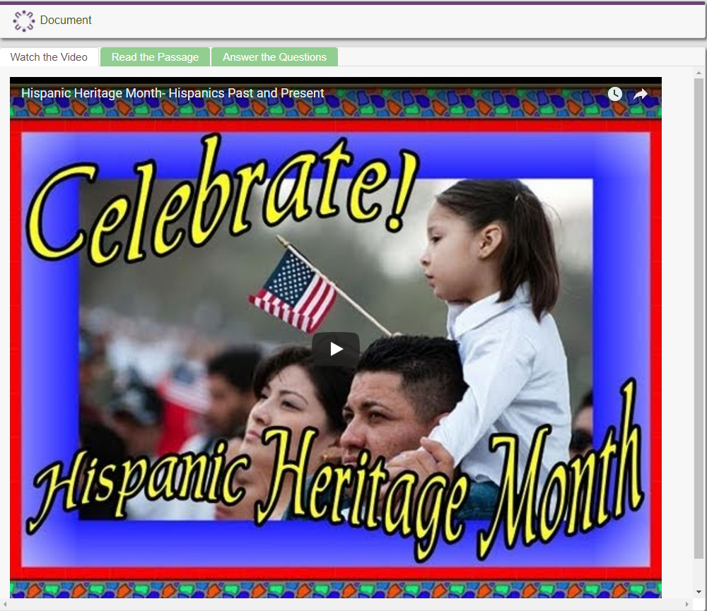 What is Hispanic Heritage Month