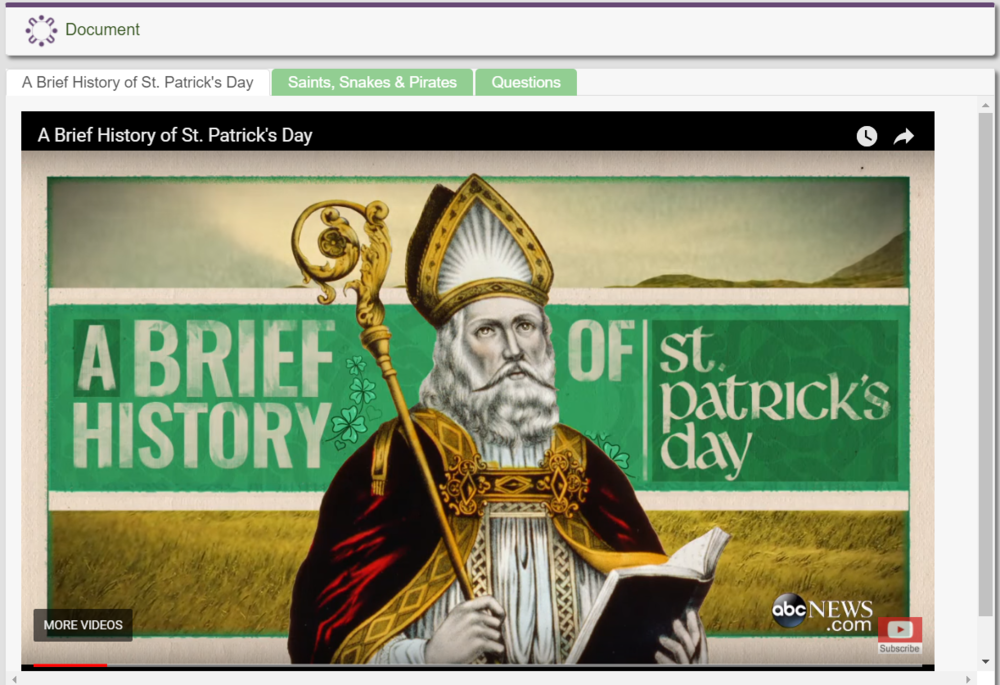 Saints, Snakes and Pirates (St. Patrick's Day)