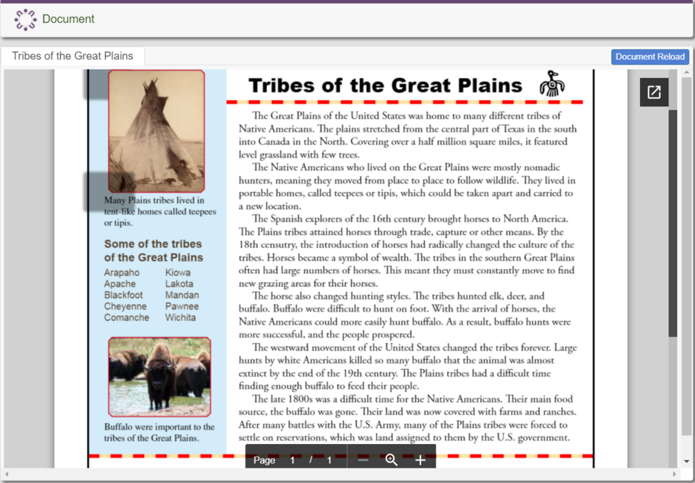 Tribes of the Great Plains (Native Americans)