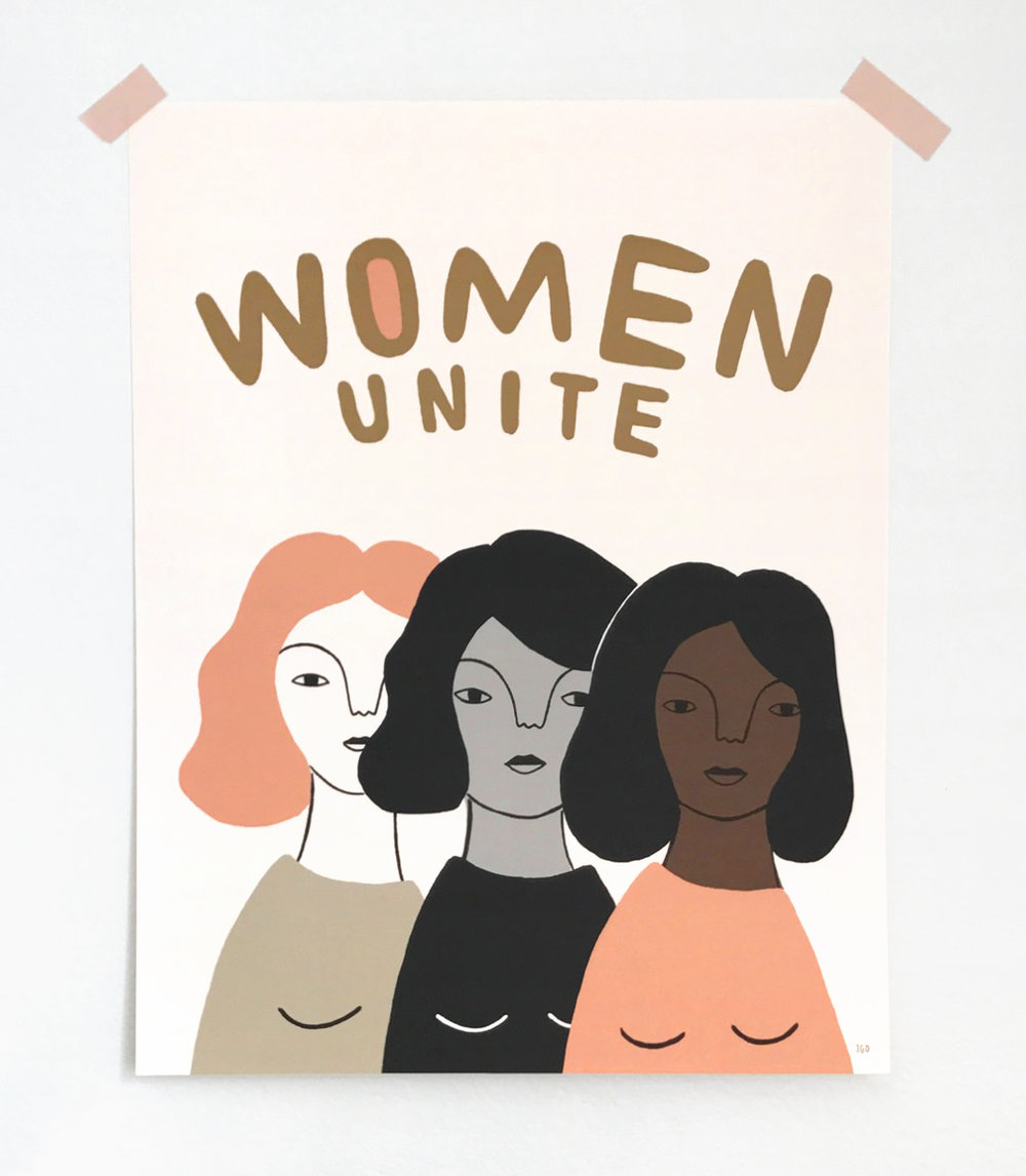 Poster design — proceeds from sale to benefit Planned Parenthood & promote women's health. Available  here .
