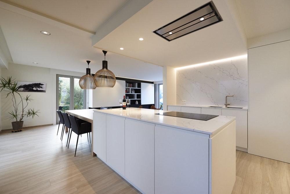 Inloopdouche Met Wastafelmeubel : Renovatie woning te tielt u2014 verfaillie interieur interieurarchitect