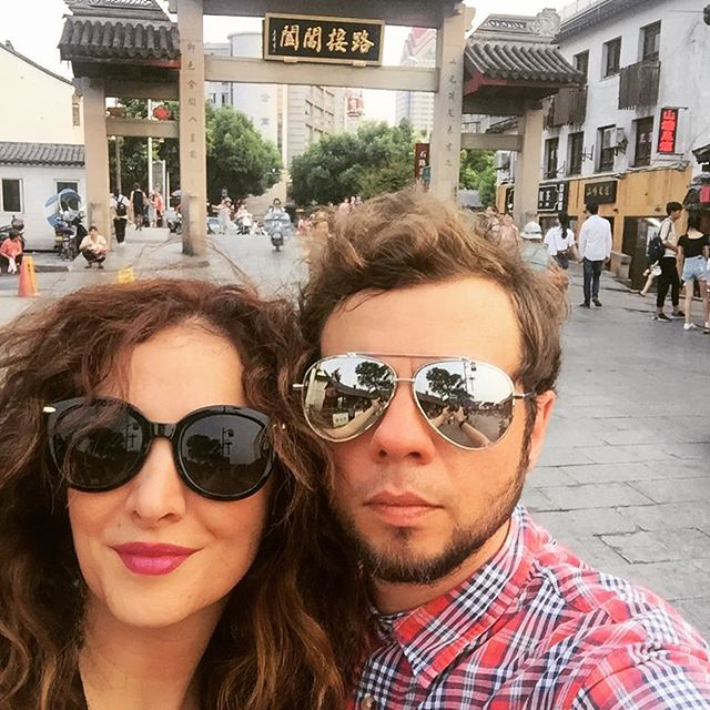 My sweetie 😘 #Vacation #inlove #china #instagrammers #sunglasses #shoppingday