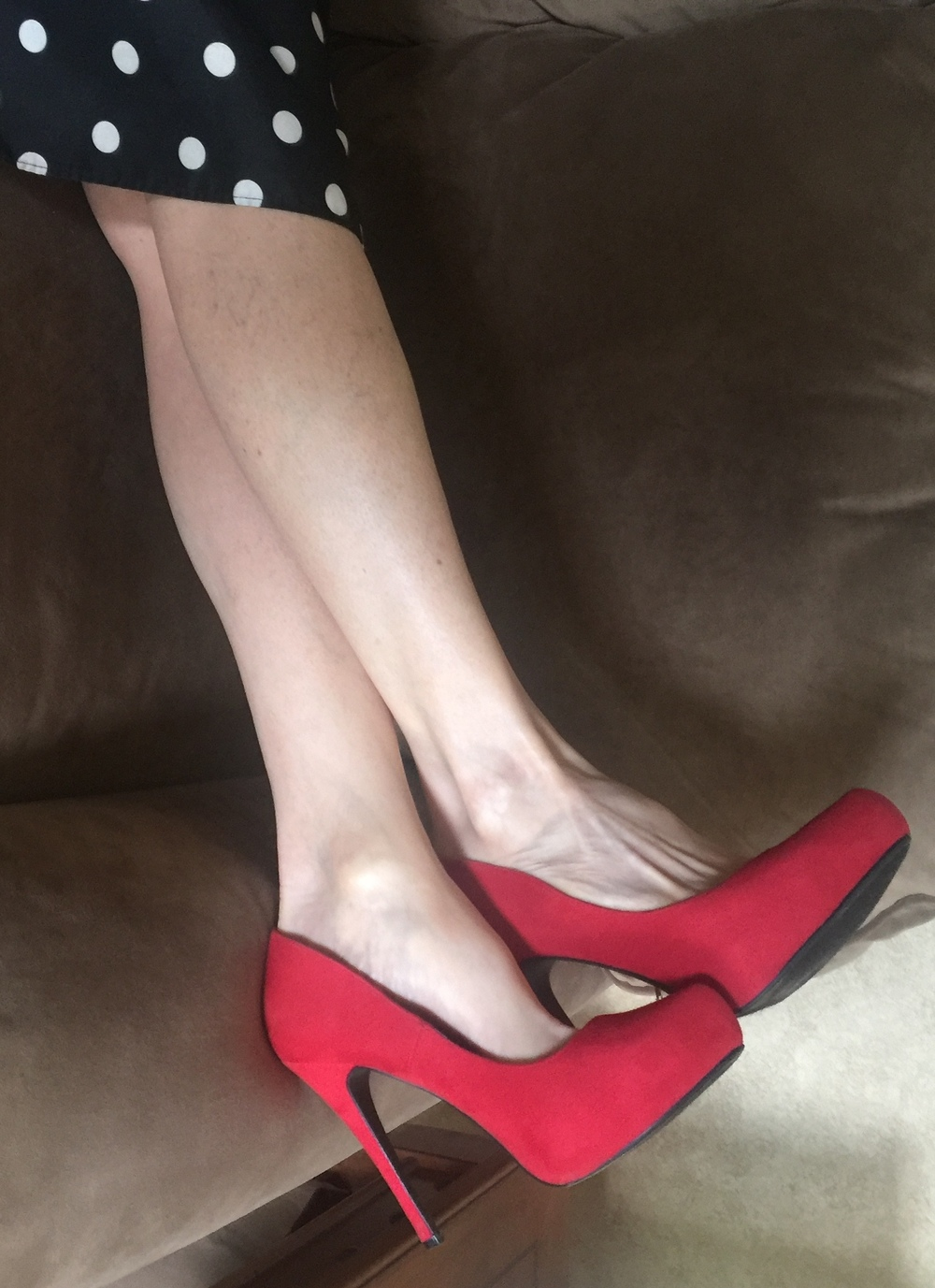 photo 1 - red suede pumps.jpg