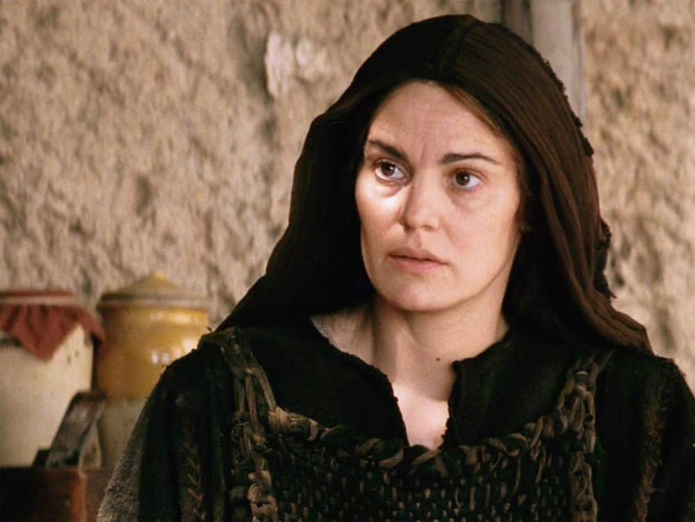 "Maia Morgenstern as Mary in ""The Passion of the Christ"""
