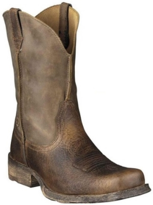 Men's Ariat Rambler Square-Toe Cowboy Boot