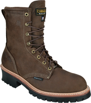 Men's Carolina Logger Waterproof Safety Toe Work Boot