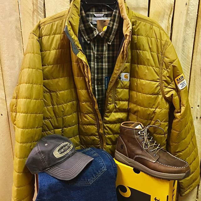 Keep it casual with Carhartt this Fall. #Carhartt #mensstyle #casual #workboots #shoplocal #757 #NewportNews