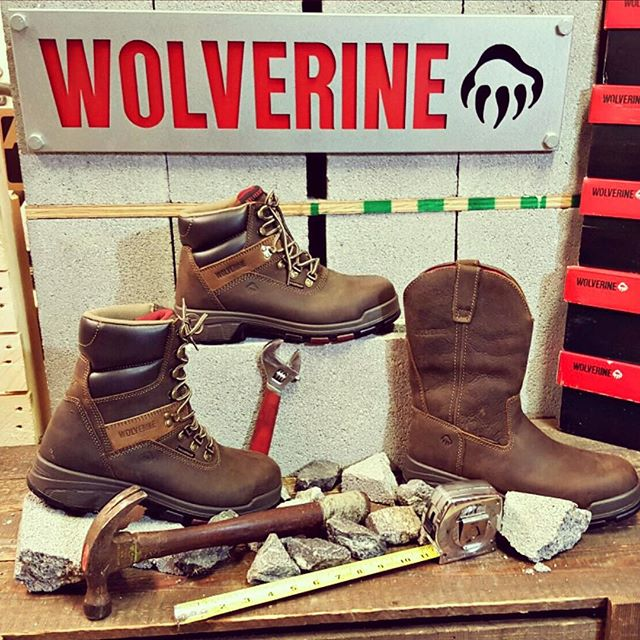 "The Cabor has it all. In stock in 6"", 8"", and Pull-on. #waterproof #workboots #wolverineboots #newportnews #757 #shoplocal"