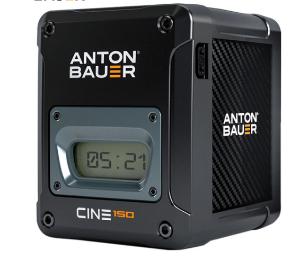 Anton Bauer Cine 150 battery, V-mount