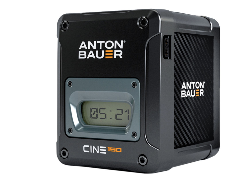 Anton Bauer Cine 150 V-mount Battery, $576 at  B&H