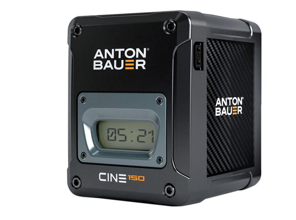 Anton Bauer Cine 150 V-mount Battery, $576 at  B&H