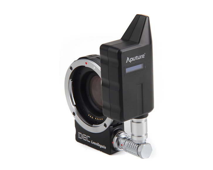 Aputure DEC Lens Regain in MFT mount,  $586 at B&H ,  $589 at Amazon .