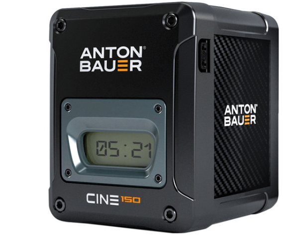 Awesome battery from Anton Bauer CINE 150 V-mount (Gold mount also available) with PowerTap connection,  $576 at B&H