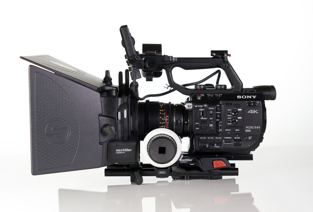 The Sachtler Ace Matte Box, Follow Focus and Base plate accessory kit ($1,350 at  B&H  and  Amazon ) is perfect in almost every way with a camera like the Sony FS5.