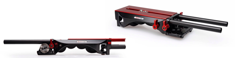 These are renderings of Zacuto's updated VCT Universal base plate with sliding deck  dating back to NAB 2014 , so it's been a long time coming. According to Zacuto, this will finally be available about now.  I'm betting it's a big improvement, and I'm looking forward to getting my hands on one to test.