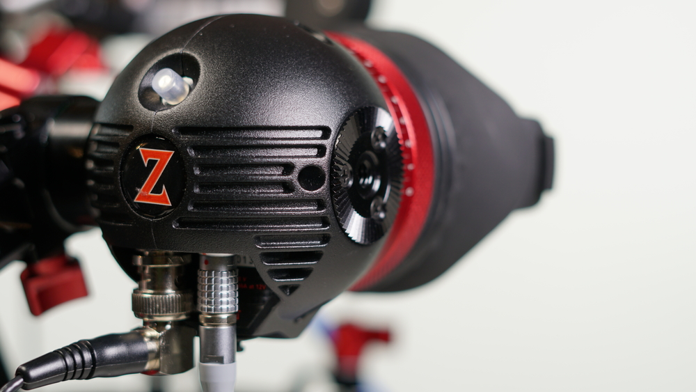 Zacuto makes a dedicated cable for the Eye which combines SDI with D-Tap, meaning that's one less cable you have to worry about.