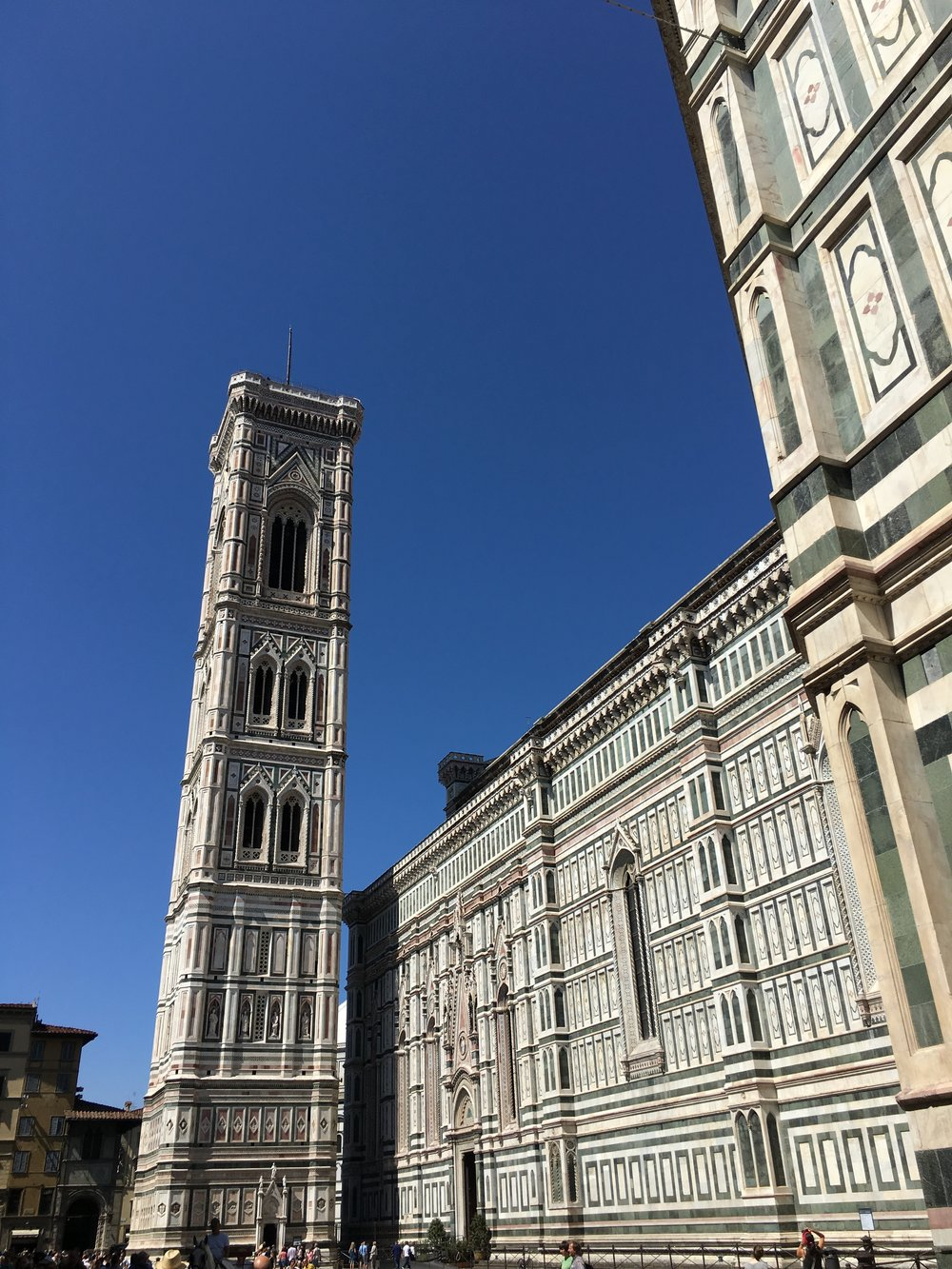 Giotto's Bell Tower in Florence, Italy - iPhone 6s Plus, hand-held ISO 25, f/2.2, ISO 2747