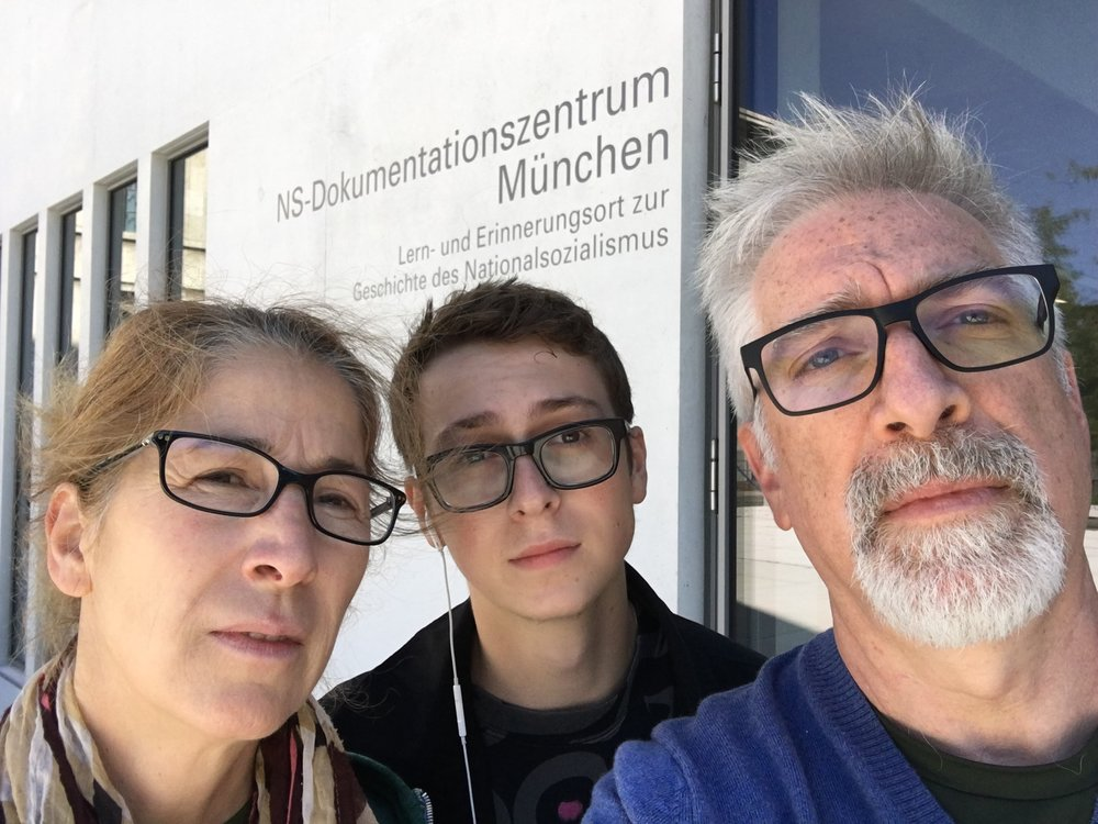 NS Documentation Center, Munich - iPhone 6s Plus, front camera, hand-held,  ISO 32, 2.65mm (all other rear camera shots at 4.15mm), f/2.2, 1/606.