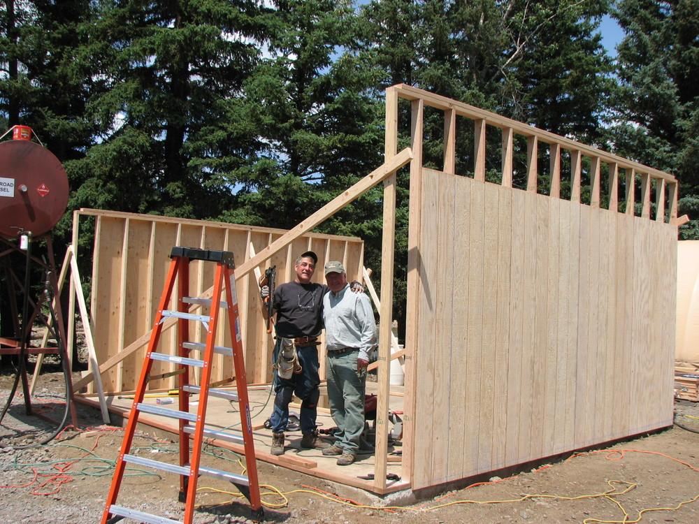 New generator house