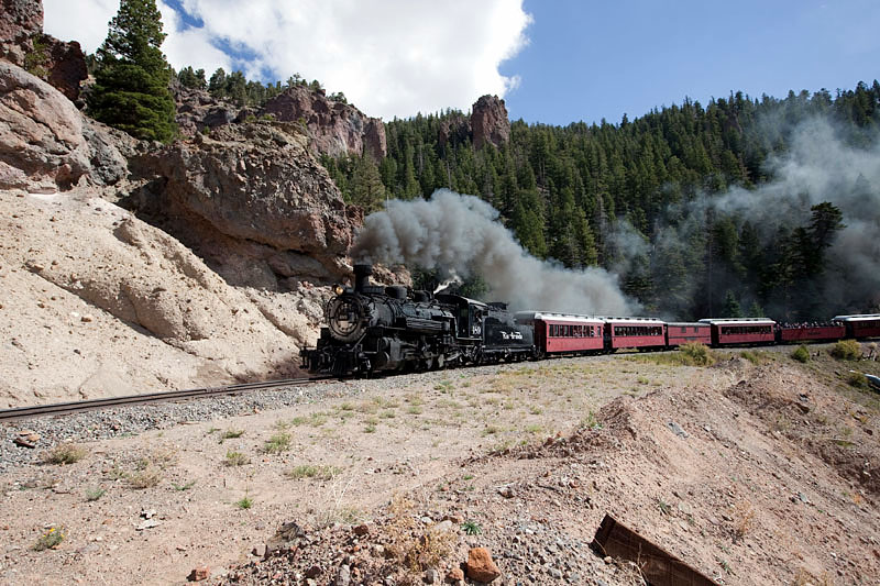 Cumbres-Toltec Narrow Gauge Scenic Railroad