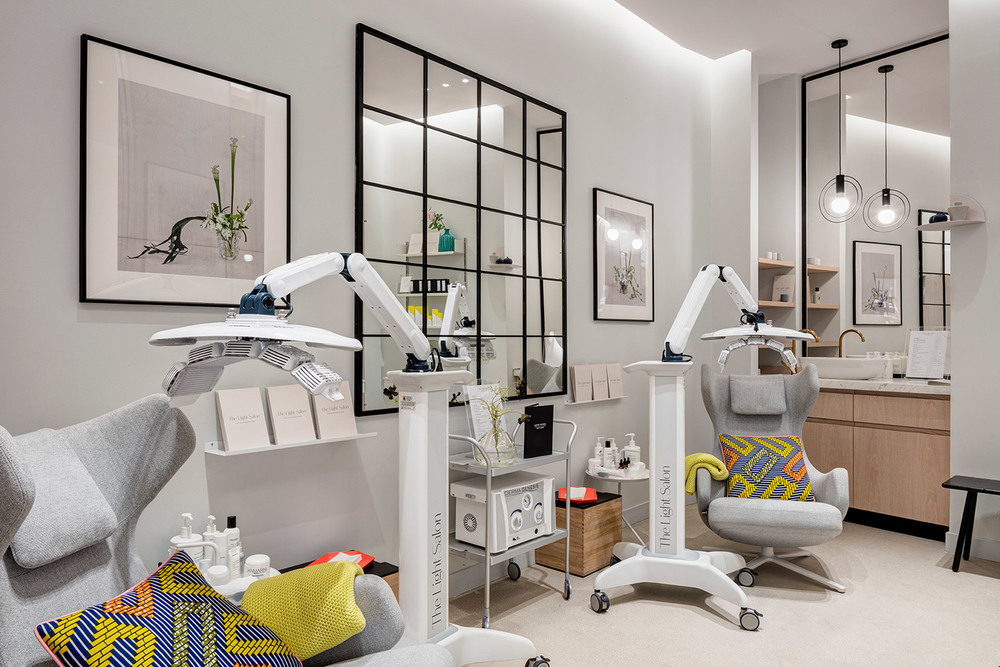 The Light Salon, Harvey Nichols Beauty Room