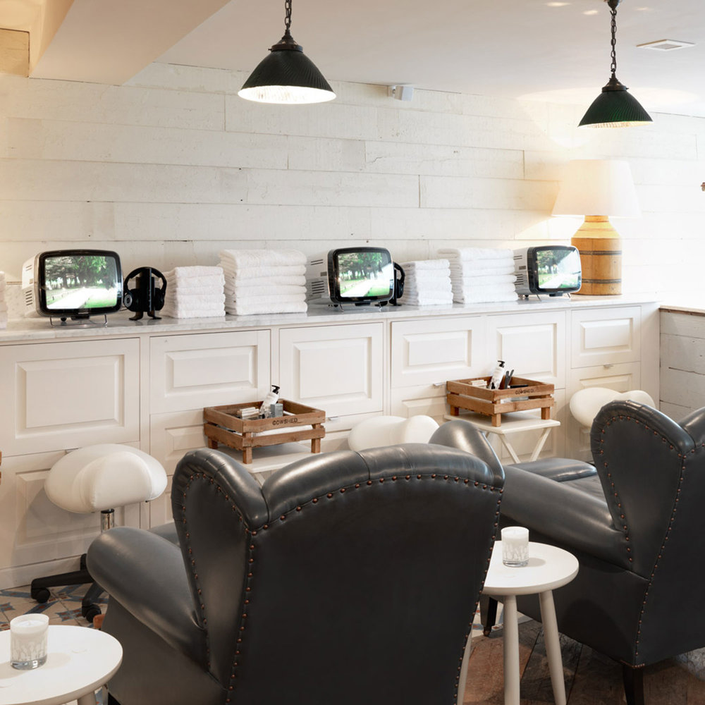 INDULGE - Enjoy The Light Salon Signature facial with a Manicure or Pedicure.