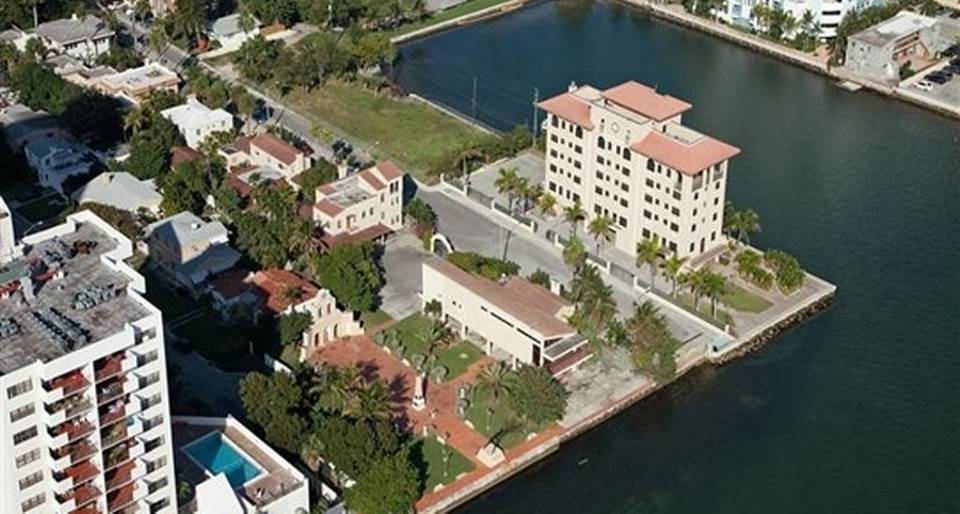 An aerial photo shows the two-acre parcel of low-rise buildings in Edgewater bought by Russian condo developer Vladislav Doronin. OKO Group Read more here: http://www.miamiherald.com/news/business/real-estate-news/article116674483.html#storylink=cpy