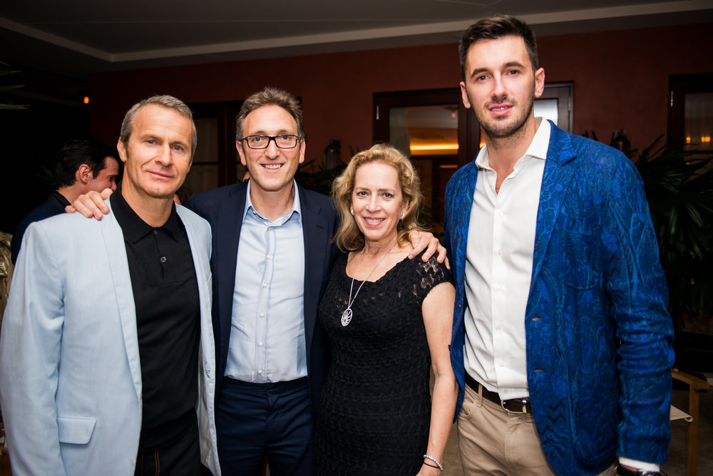 Vladislav Doronin, Jonathan Goldstein, Alicia Cervera and Ottavio Missoni