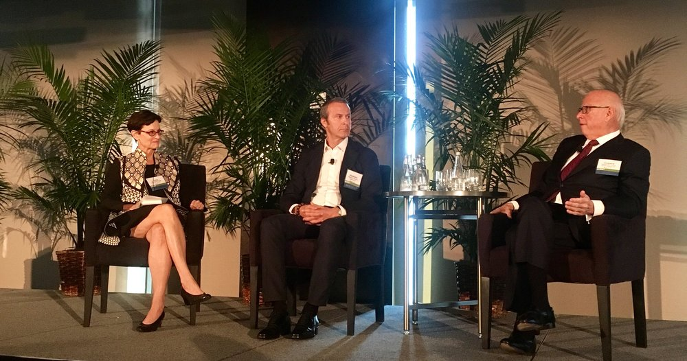Chairman Chat: Vladislav Doronin and Howard Lorber discuss Miami Real Estate at the ULI Symposium. The conversation was moderated by Jane Wooldridge, Business Editor of Miami Herald.