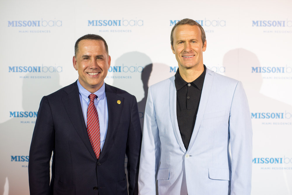 Mayor Philip Levine and Vladislav Doronin