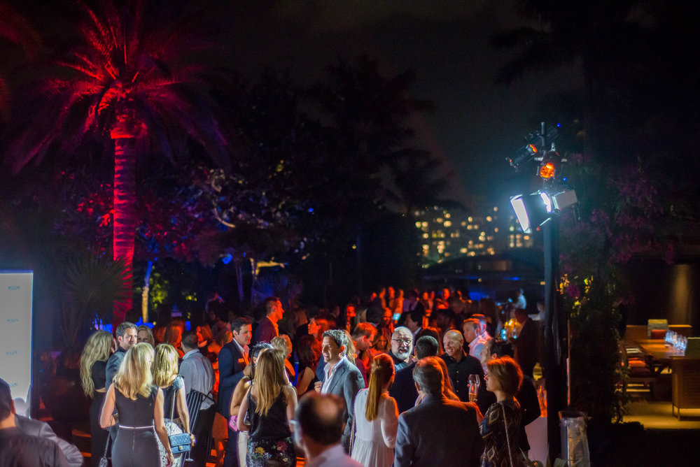 Missoni Baia Miami Residences launch event at Star Island